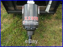McMillen X1975 Hex Skid Steer Loader Auger Drive Unit Attachment Ship $199