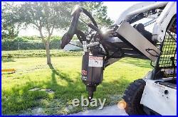 McMillen X1975 Skid Steer Auger Pkg with 6 X 48 Dirt Auger Bit, All Gear Drive