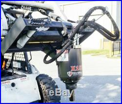 Mcmillen X1975 Skid Steer Track Loader 2 Hex Planetary Drive Auger 36 Max Bit