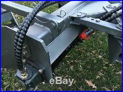 Mini Skid Steer Power Rake For Toro Dingo, Boxer, Vermeer, DW, Bobcat MT Harley