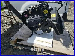 Mini Skid Steer Vibratory Plow For Toro Dingo, Boxer, Vermeer, DW, Bobcat