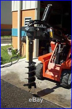 Mini Skid Steer X1500 Auger Drive, 2 Hex Drive, With 12 x 48 Rock Ripper Bit