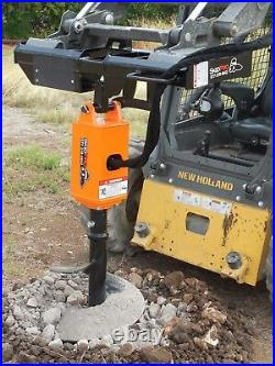 NC200 2 Hex Earth Auger withPlanetary Drive for Skid Steer/Bobcat/JD/Kubota/Gehl