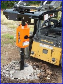 NC300 2 Hex Earth Auger withPlanetary Drive for Skid Steer/Bobcat/JD/Kubota/Gehl