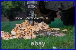 NEW 10 AUGER STUMP PLANER GRINDER BIT for Skid Steer Loader Excavator 2 HEX