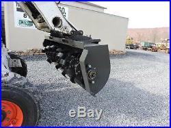 NEW 2018 CID Xtreme 72 Roto Rotary Tiller 14-20 GPM Skid Steer Loader Low Flow