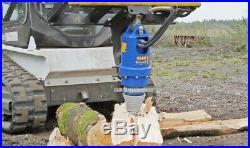 NEW AUGER DRIVE LOG SPLITTER CONE / BIT Skid Steer Loader Wood Screw Drill