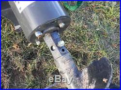 NEW CID Xtreme Skid Steer Auger Post Hole Digger Fits Bobcat Loader Deere JCB