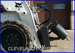 NEW EARTH AUGER DRIVE ATTACHMENT Skid Steer Loader ASV Posi Track Scat Trak JCB