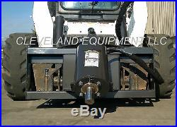 NEW HD AUGER DRIVE ATTACHMENT for fits Bobcat Skid Steer Track Loader Post Hole