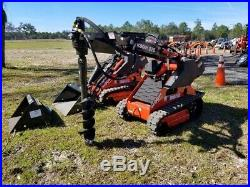 NEW MINI SKID STEER AUGER DRIVE X1500 HIGH TORQUE With 9 X 36 BIT HDF, IN STOCK