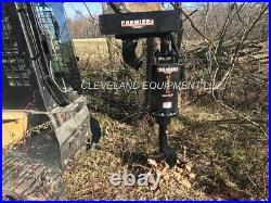 NEW PREMIER 12 AUGER STUMP GRINDER BIT Skid Steer Loader Excavator 2 HEX