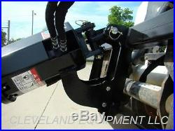 NEW PREMIER MD18 HYDRAULIC AUGER DRIVE ATTACHMENT Volvo JCB Skid Steer Loader