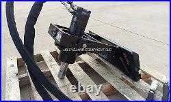 NEW PREMIER MS14 AUGER DRIVE ATTACHMENT Bobcat MT85 MT100 Mini Skid Steer Loader