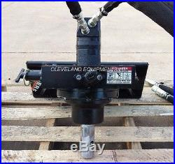 NEW PREMIER MS14 AUGER DRIVE ATTACHMENT Mini Skid Steer Track Loader Ditch Witch