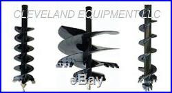 NEW PREMIER MS14 AUGER DRIVE ATTACHMENT Mini Skid Steer Track Loader Ramrod Finn