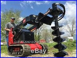 NEW PREMIER MS14 AUGER DRIVE ATTACHMENT Mini SkidSteer Track Loader Boxer Thomas