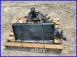 NEW Premier Mini Skid Steer Auger Attachment 9 inch Bit Bobcat MT50 / MT55