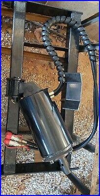 NO RESERVE! New Skid Steer Planetary Auger / Hole Digger with 14 x 48 bit