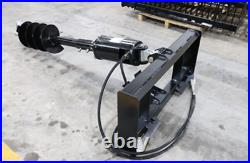 New 2020 Universal Skid Steer Heavy Duty Auger Attachment With 12 & 18 Bit