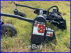 New Harley Power Landscape Rake 8' Hydraulic Angle Mx8h Fit All Large Skid Steer