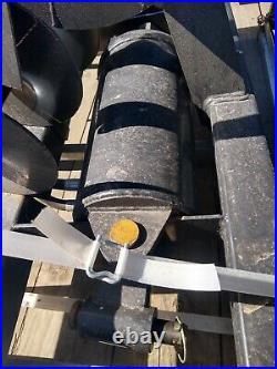New JCT Skidsteer skid steer hydraulic auger post hole digger 12+ 17 bits