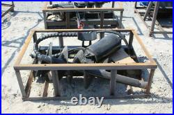 New Skid Steer Hydraulic Auger Earth Drill with 14 Bit in Crate Bobcat