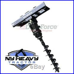 One DuroForce Earth Drill Auger Complete Assembly Drive Unit For CAT Skid Steer