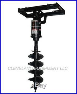 PREMIER MD18 COMPLETE HYDRAULIC EARTH AUGER DRIVE ATTACHMENT Skid Steer Loader