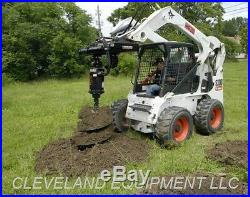 PREMIER MD18 HYDRAULIC AUGER DRIVE ATTACHMENT Bobcat Skid Steer Post Hole Digger