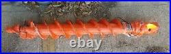 Pengo 6 HD Skid Steer Auger Mini Excavator Bit with Interlok 2 hex coupler