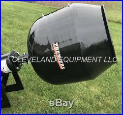 Premier Ms14 Mini Skidsteer Auger Drive Attachment Concrete Cement Mixing Bowl