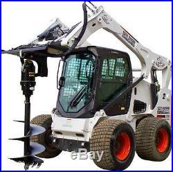 Premium Eterra Skid Steer Auger X4500 FLIP MOUNT SYSTEM