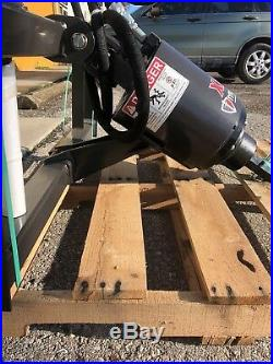Skid Steer Auger 3000PSI Extreme Duty, Gear Drive, McMillen X2475 with24Tree Bit