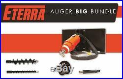 Skid Steer Auger BIG BUNDLE Landscapers & Contractors Eterra 3500 Auger