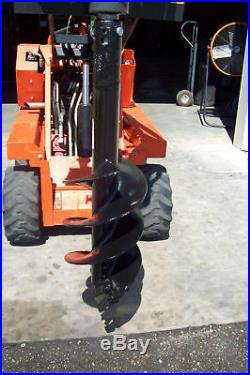 Skid Steer Auger Bit 9 x 3' For Mini Loaders, McMillen Fits All Round Drives