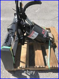 Skid Steer Auger Drive, Fits All Brands, 5 yr Warranty McMillen X1475 with12 Bit
