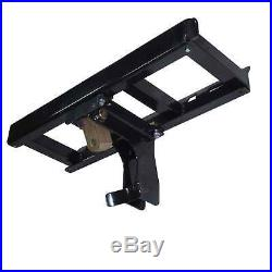 Skid Steer Auger Frame & Bracket Post Hole Digger with 4500 PSI Planetary Drive