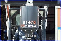 Skid Steer Auger McMillen X1475DGear Drive Auger, Hex Shaft 5 Year Warranty, NEW