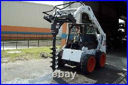 Skid Steer Auger Package McMillen X1475 Planetary Drive, 5 Year Warranty with15 Bit