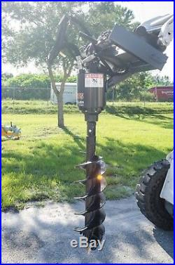 Skid Steer Auger Pkg with42 Tree Bit, McMillen X1975 Gear Drive, Ship Same Day