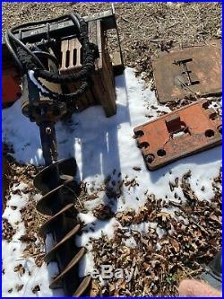 Skid Steer Auger Post Hole Digger For Bobcat, Deere, CAT, JCB, KUBOTA etc