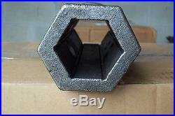 Skid Steer Auger Repair Collar, For 2 Hex Auger Bits, McMillen Fits Most Bits