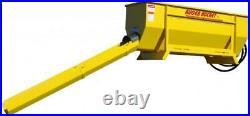 Skid Steer Concrete Discharge Auger Bucket Attachment NEW