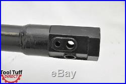Skid Steer Earth Auger Bit, 12 Diameter, 2 Hex Drive with 60 Extension Shaft