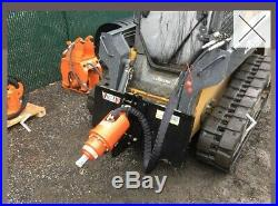 Skid Steer Eterra 4500 Auger Drive with Cement Mixer and 18 Bit NEVER USED
