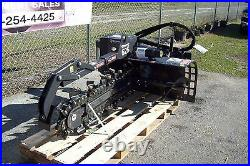 Skid Steer Trencher by Bradco, 625 Digs 36 Deep, 6 Wide, 50/50 Rock Teeth Extreme
