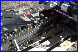 Skid Steer Trencher by Bradco, 625 Digs 48 Deep, 6 Wide, 50/50 Rock Teeth InStock