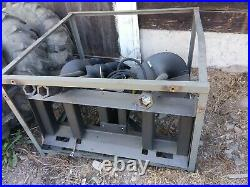 Skid steer attachments auger