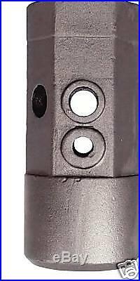Skidsteer Auger Repair Hub 2 HEX